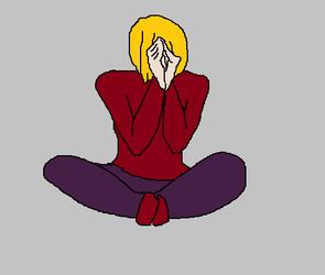 meditation by LilietBorodina