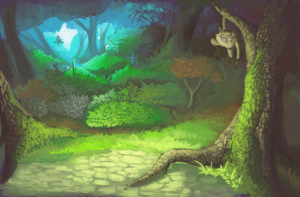 Mankey forest by drmaniacal on deviantart mankey forest by drmaniacal voltagebd Gallery