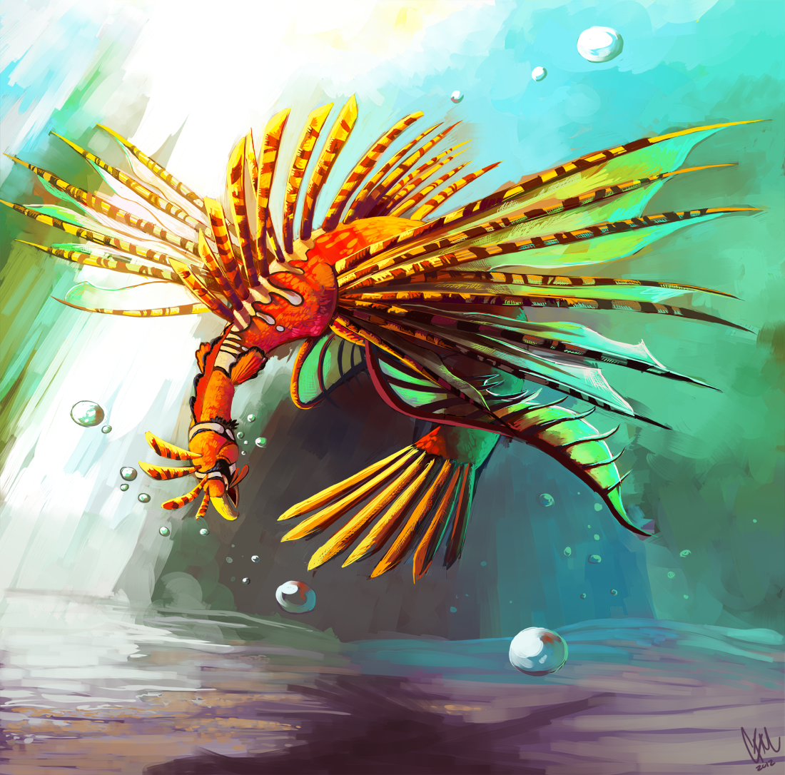 A different type of pokemon water poison ho oh by for Different type of water