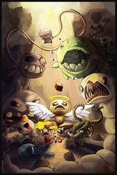 The Binding of Isaac by ChrisMoschler