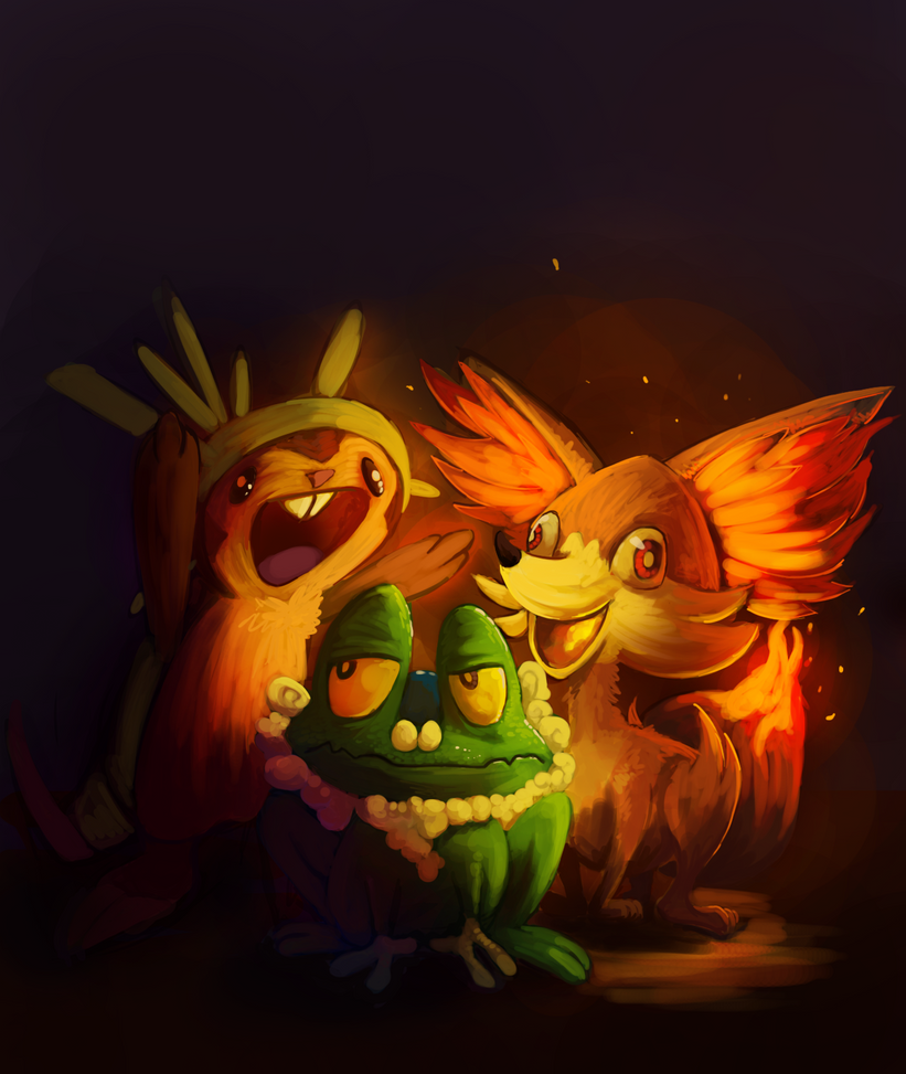 new gen starters??? by DrManiacal