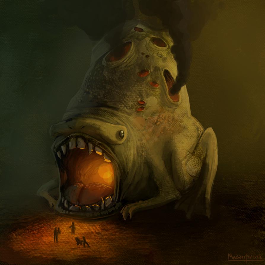 Fire-bellied Bufo by DrManiacal