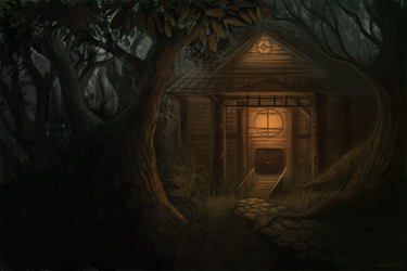 the cabin by ChrisMoschler