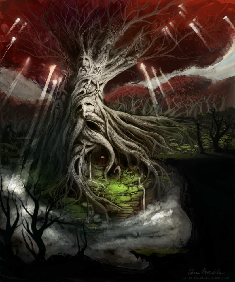 Elder Tree by DrManiacal