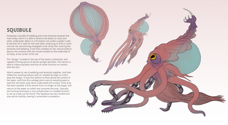 Creature Concept - Squibule by DrManiacal