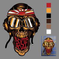 KamiKazi Patch Design by ChrisMoschler