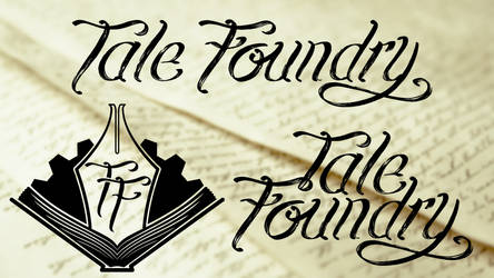 Tale Foundry - Logo and Lettering