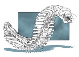 Cyborg Dino - Arthropleura