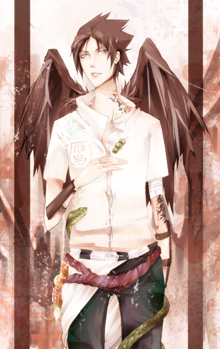 Sasuke by Bosmitze