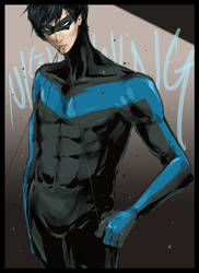 Nightwing by Bosmitze