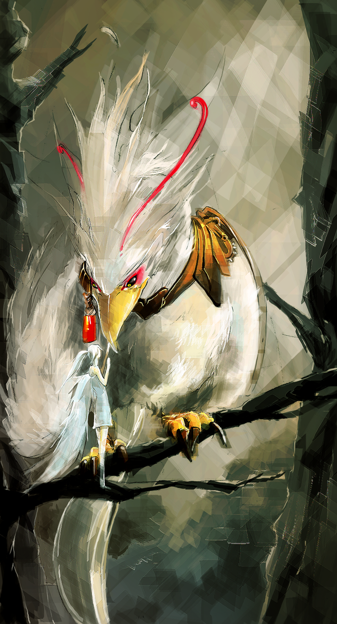 Warrior Bird by Bosmitze