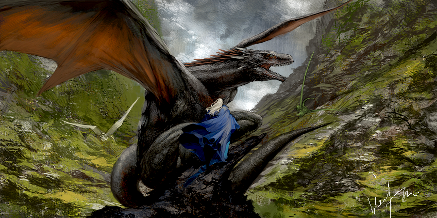 Mother of Dragons by Bosmitze