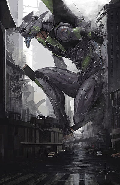 Eva Unit 1 by Bosmitze