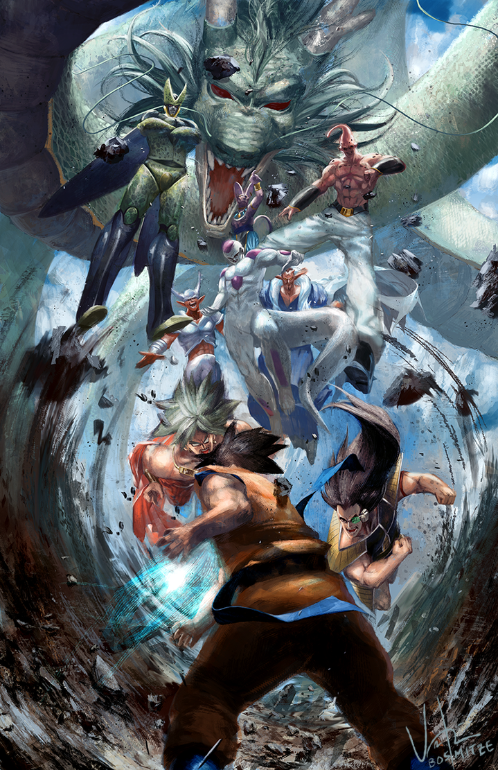 Dragon Ball Z by Bosmitze