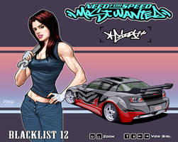 Izzy_A of NFS Most Wanted