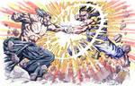 Heihachi Vs Akuma