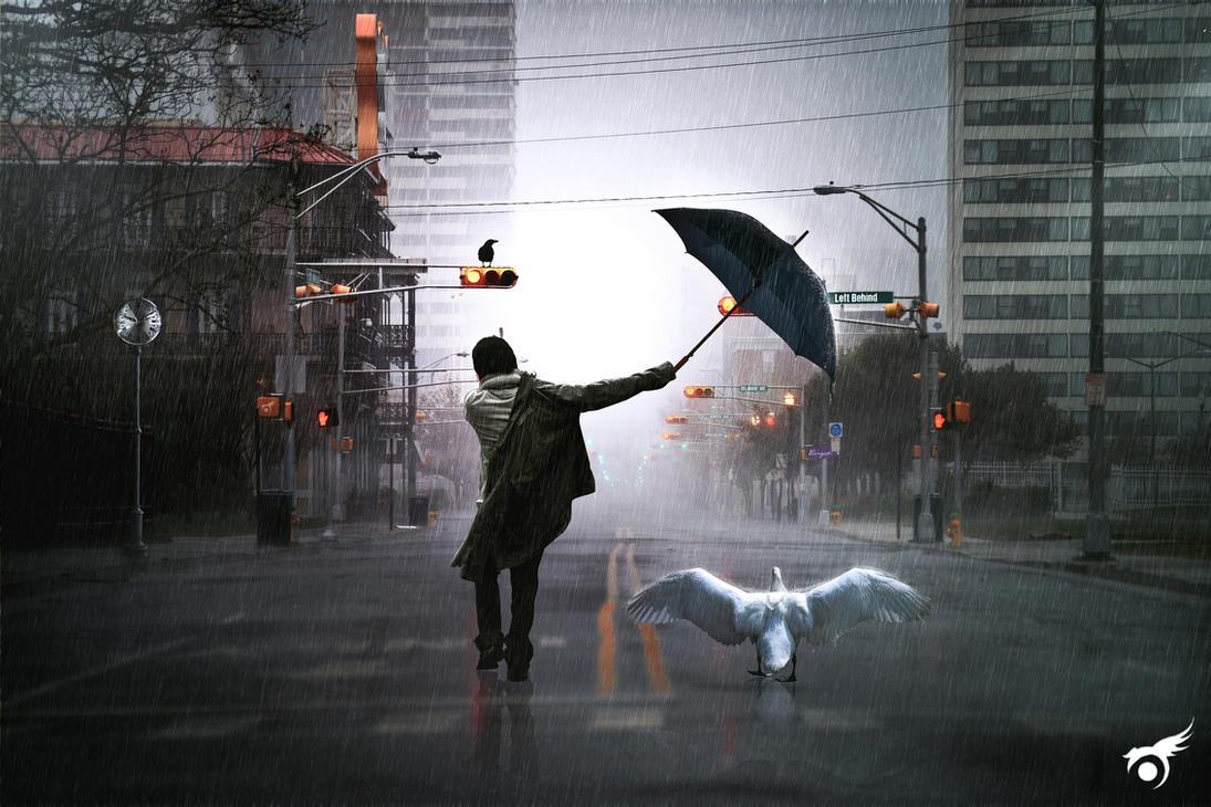 Walking In The Rain3 by dayat12