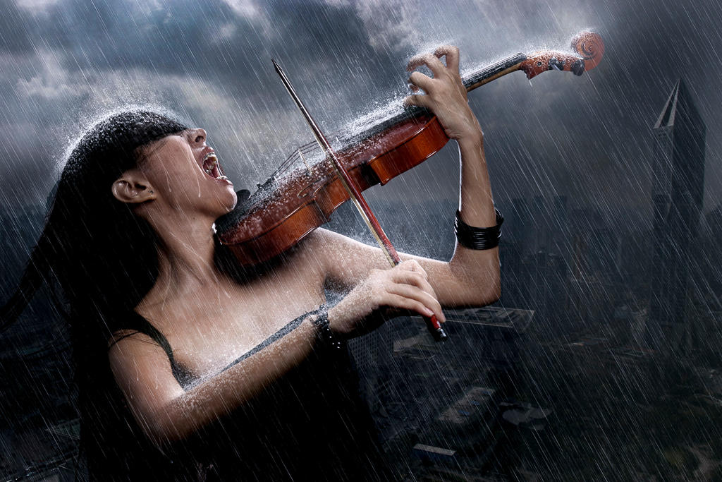 Singing in the Rain by dayat12