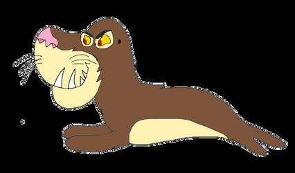 Prehistoric Walrus by KallyToonsStudios