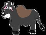 Aurochs-colored zebu