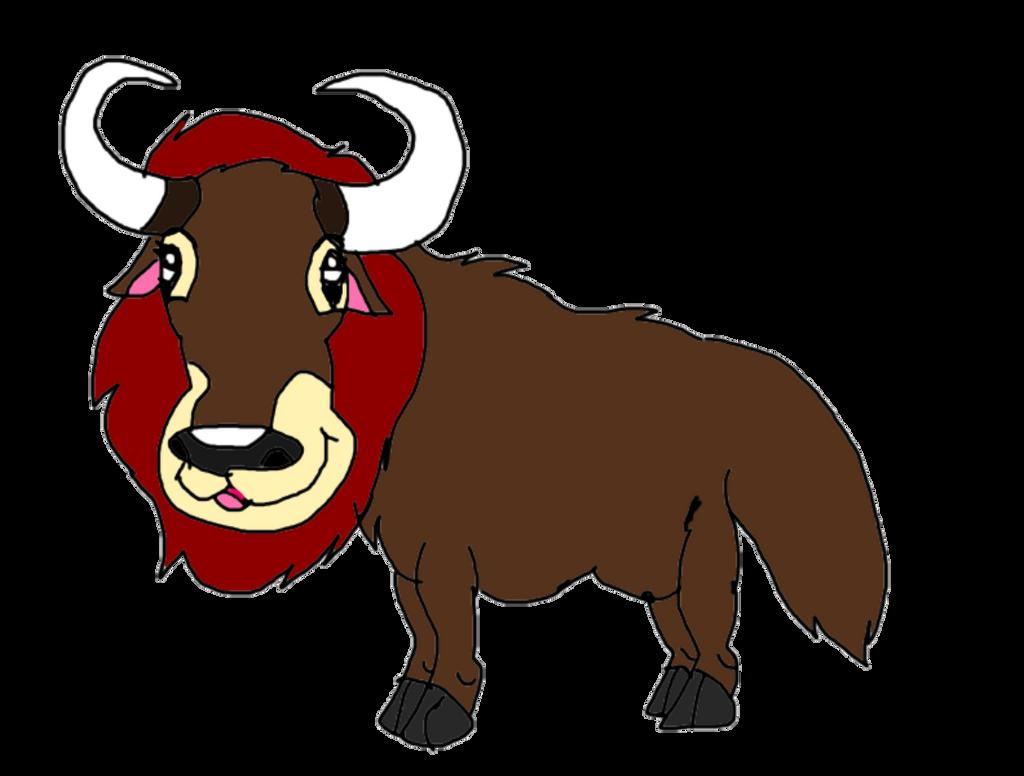 Random maned yak by KallyToonsStudios
