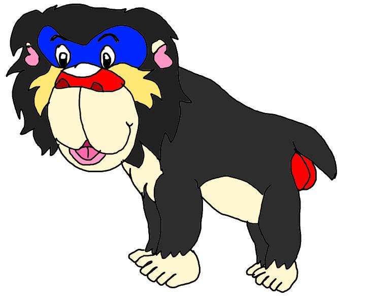 Strange monkey by KallyToonsStudios