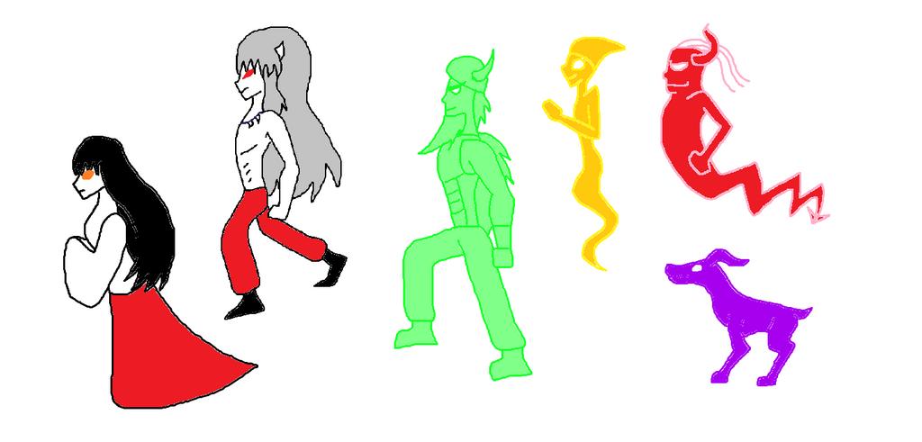 Cartoon Anime Spirits By Sci-Fiman2xxx by KallyToonsStudios