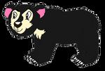 Spectacled Bear by KallyToonsStudios