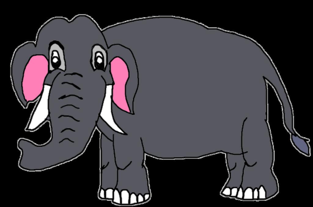 Asian Elephant by KallyToonsStudios