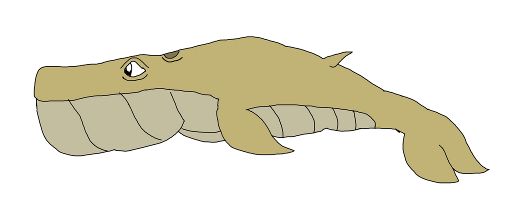 Jellielandian Sand Whale by KallyToonsStudios
