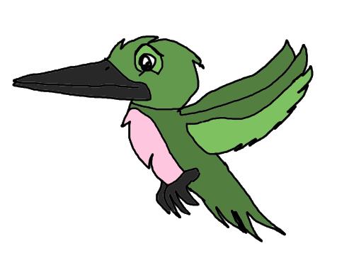 Hummingbird by KallyToonsStudios