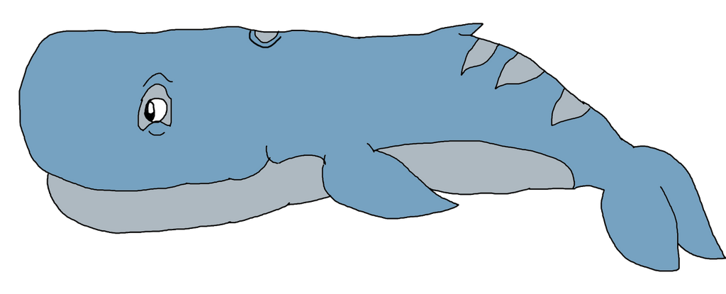 Jellielandian Sand Sperm Whale by KallyToonsStudios