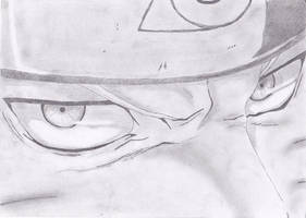 Naruto-close up by fearlesssniper