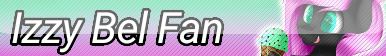 Izzy Bel Fan Button by KittyBelli24