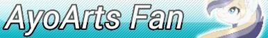 AyoArts Fan Button [Commission] (Re-Do) by KittyBelli24