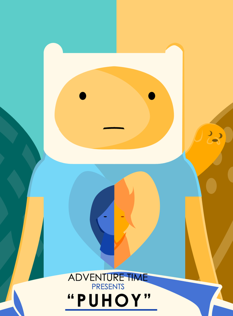 Adventure Time Jay And Bonnie Adventure Time Puhoy Poster by