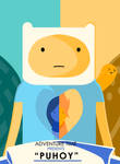 Adventure Time Puhoy Poster