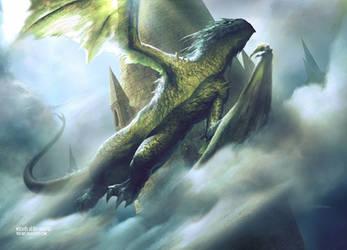 Drakewing Krasis by yozartwork