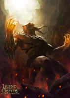Dragon Tribe Leader level1 by yozartwork