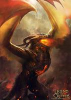 Dragon Tribe Leader level2 by yozartwork