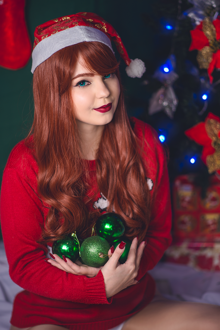 Mary Jane Watson (Christmas). by annieseixascos