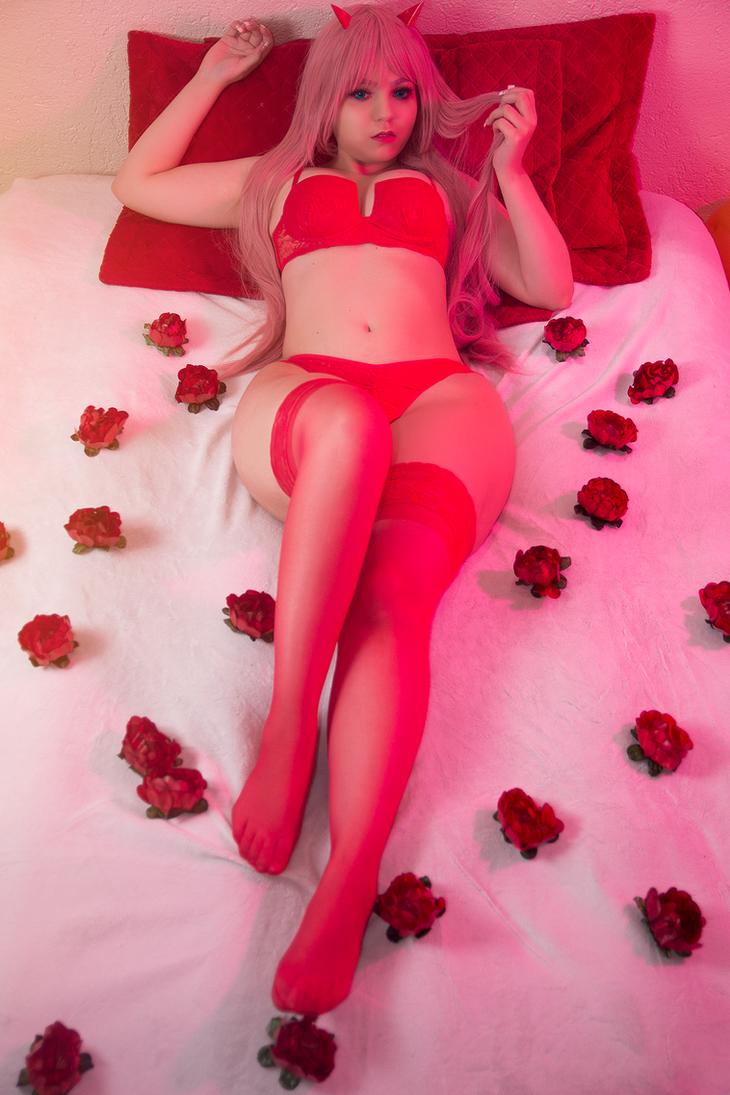 Zero Two (Valentine's Day ver.) by annieseixascos
