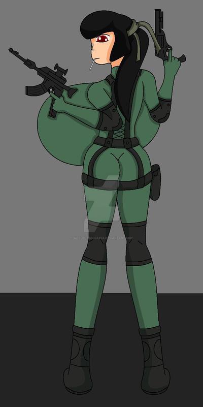 Metal Gear Sonya by WorldofSolgamia
