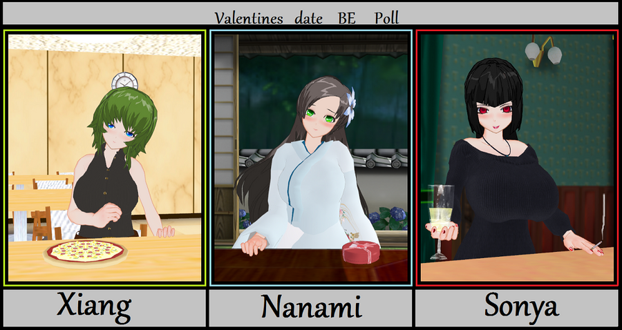 Valentines Day date - BE poll by WorldofSolgamia