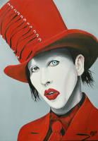 Marilyn Manson by Art-Portrait
