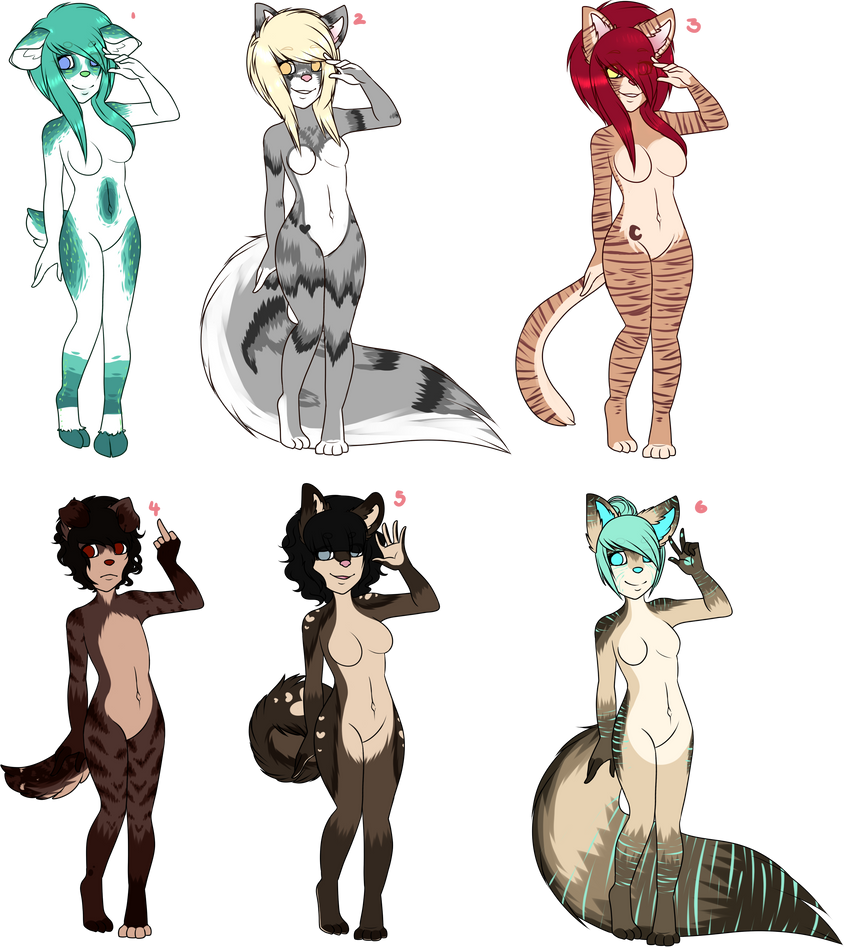 Collab adopt batch #1 by chiarimo