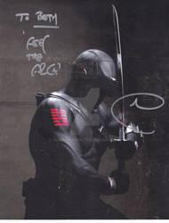 SnakeEyes Autograph