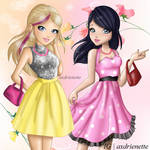 Chloe and Marinette Season 2 doll design