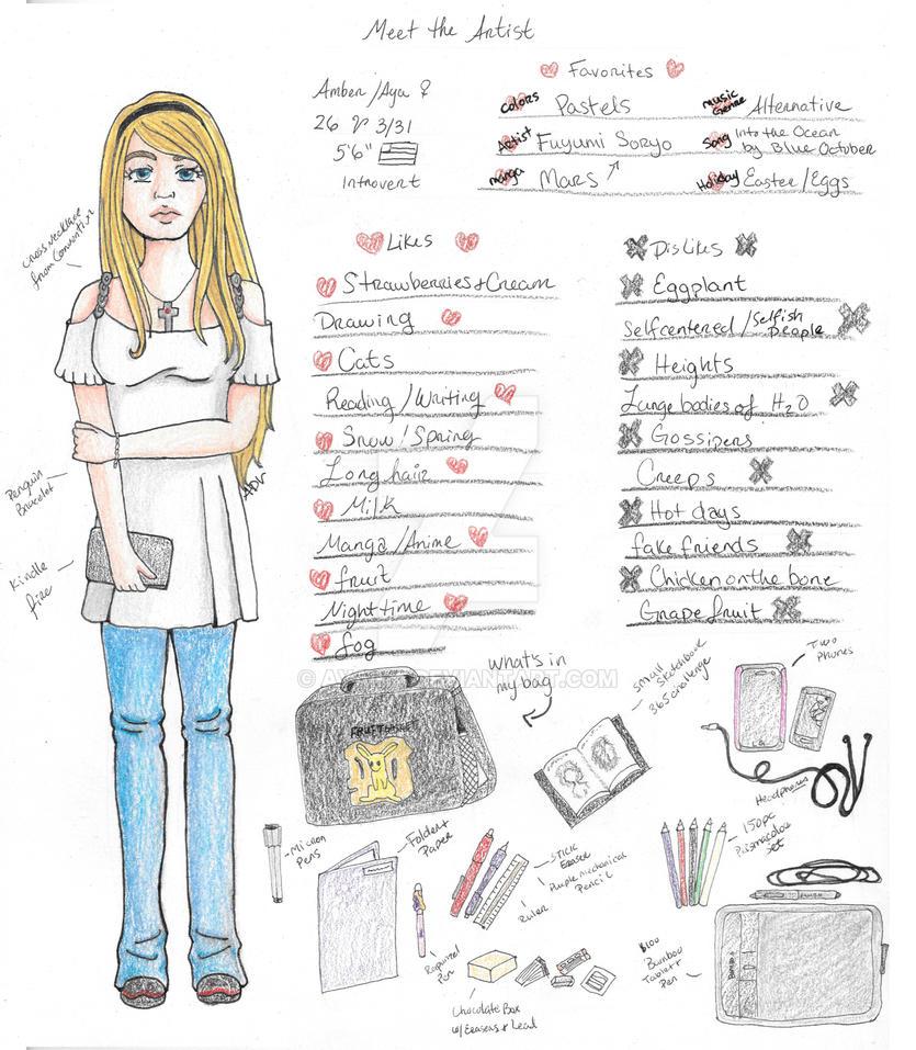 Meet The Artist Amber/Aya/Ayaika by Ayaika