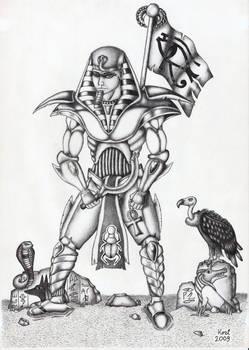 Egyptian warrior - UT style